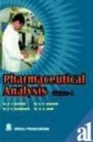 Pharmaceutical Analysis Vol 1 by K R MahadikA V KastureS G Wadodkar on Textnook.com