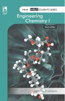 Engineering Chemistry Vol.1 (WBUT) -, 3rd Ed by Dasmohapatra Gourkrishna on Textnook.com
