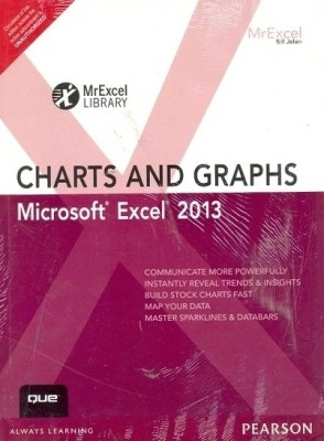 Microsoft Excel 2013 Charts And Graphs 1 by Bill Jelen on Textnook.com