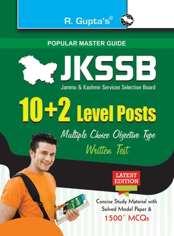 J&K Services Selection Board: 10+2 Level Posts: Written Test Guide by RPH Editorial Board on Textnook.com