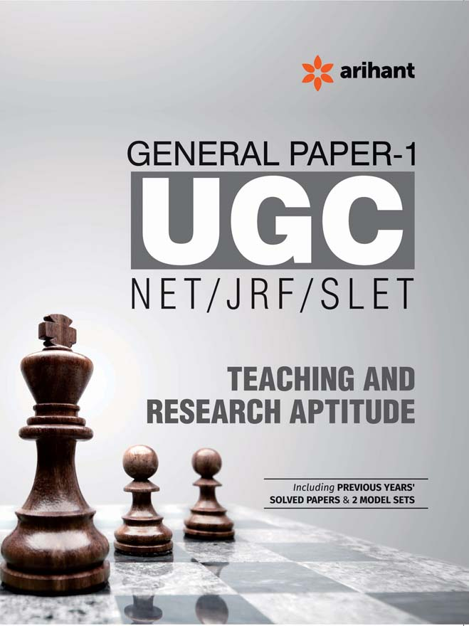 UGC NET/JRF/SLET General Paper-1  Teaching & Research Aptitude by Arihant Experts on Textnook.com