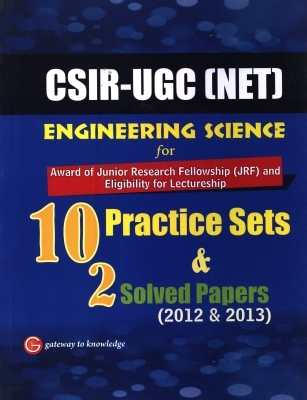 CSIR - UGC (Net) Engineering Science (10 Practice Sets & 2 Solved Paper), 1st Ed by G K PUblications on Textnook.com