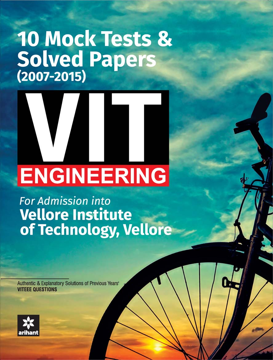 10 Mock Tests & Solved Papers (2007-2015)  for VIT  Engineering by Experts Compilation on Textnook.com