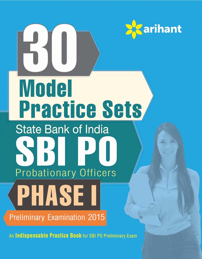 30 Practice Sets for SBI PO Phase-1 (E) by Arihant Experts on Textnook.com