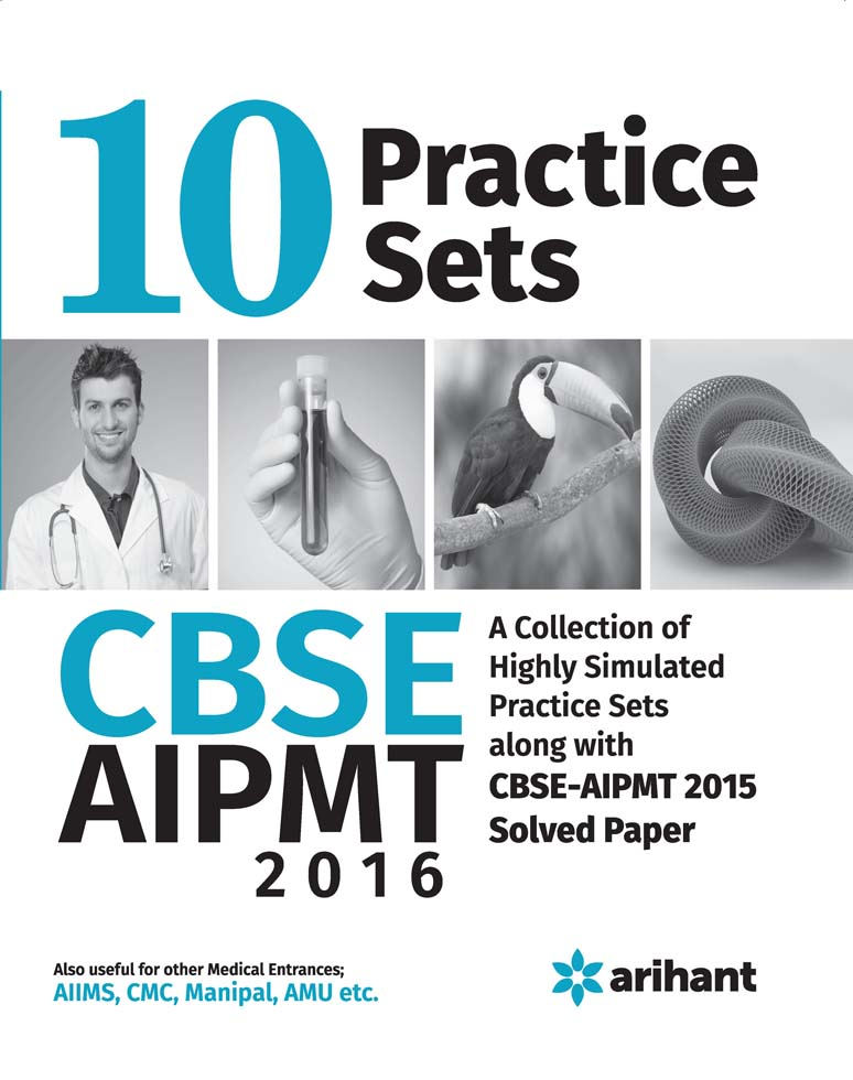 AIPMT (All India Pre-Medical/Pre-Dental Entrance Test) 2015  - 10 Practice Sets by Experts Compilation on Textnook.com