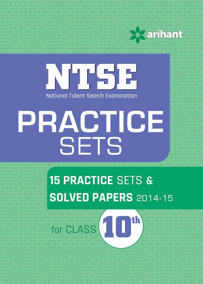 NTSE Practice Sets for Class 10th by NidhiDiwakar SharmaAyush GuptaSonal Chauhan on Textnook.com