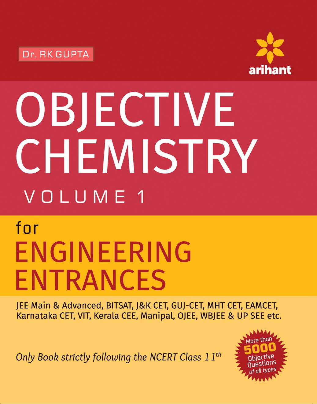 Objective Approach to Chemistry Vol 1 For Engineering Entrances by Dr. R K Gupta on Textnook.com