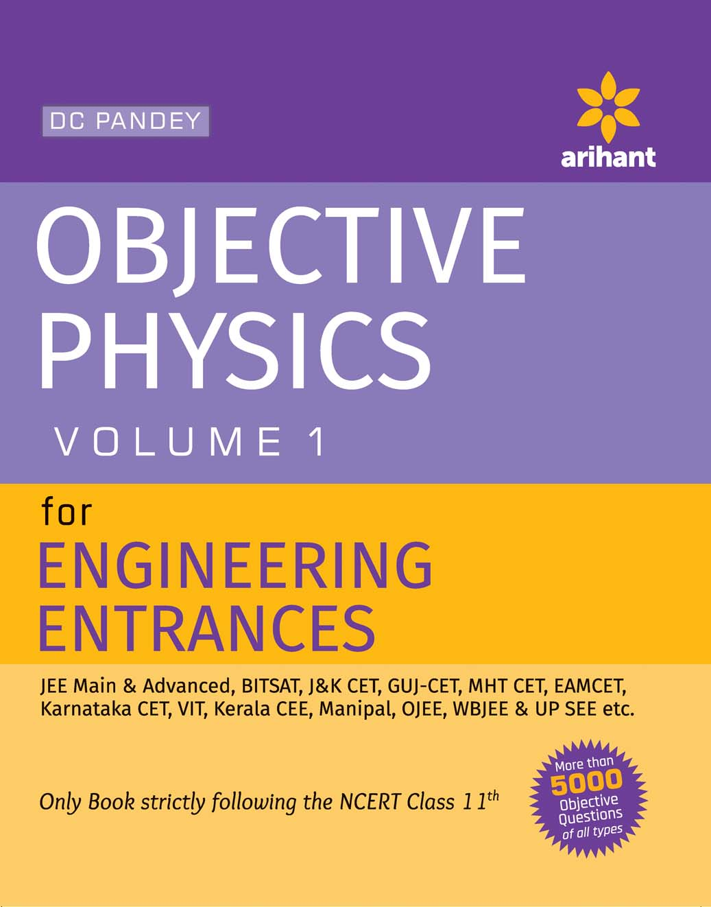 Objective Approach to Physics Vol-1 for Engineering Entrances by D C Pandey on Textnook.com