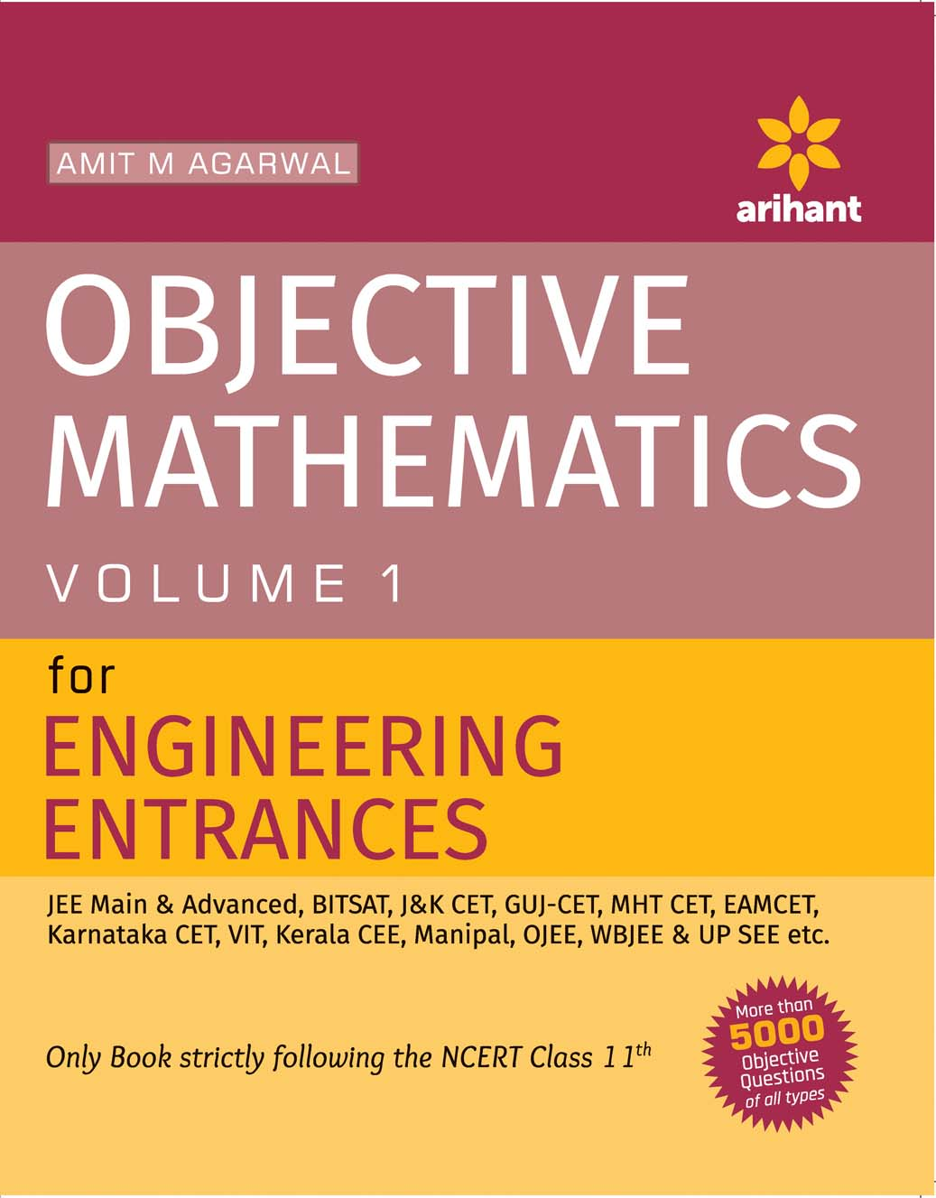 Objective Approach to Mathematics Vol 1 For JEE Main & Advanced by Amit M Agarwal on Textnook.com