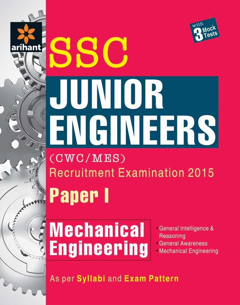 SSC Junior Engineer Mechanical Engineering Paper 1 (CPWD/MES) Recruitment Examination 2016 by Arihant Experts on Textnook.com