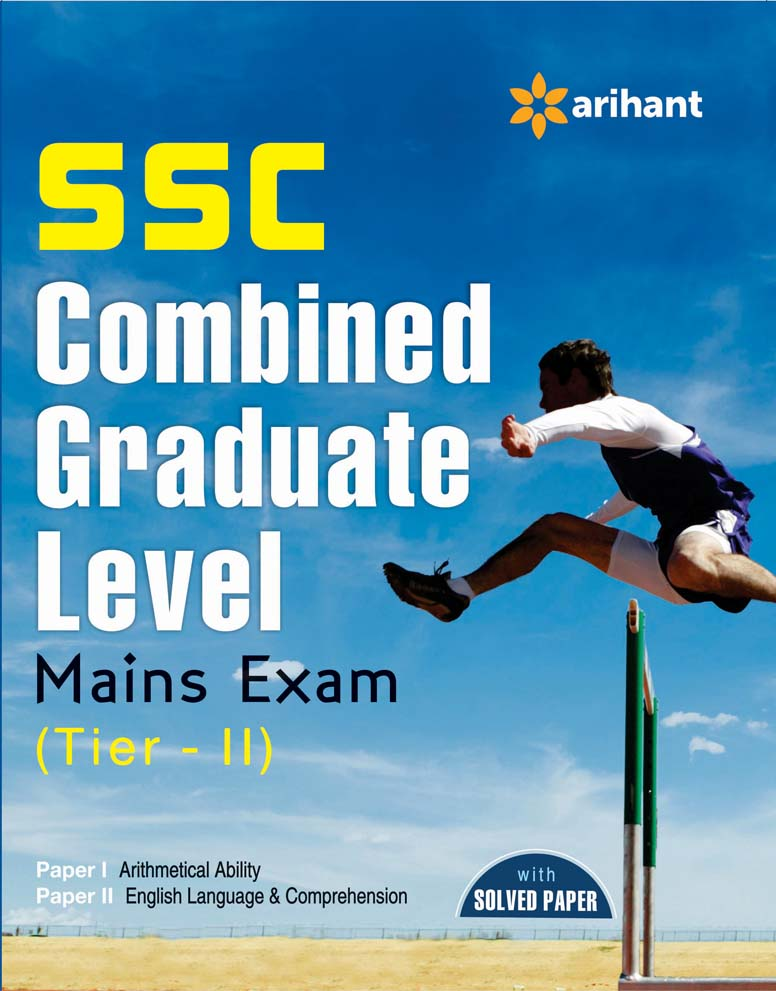 SSC Combined Graduate Level Mains Exam Tier-II, Paper-1 & 2 by Arihant Experts on Textnook.com