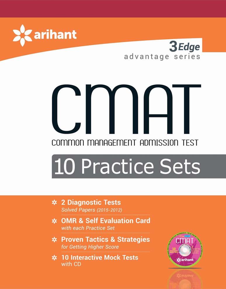 3 Edge Advantage Series - CMAT 10 Practice Sets by NidhiRK BehlDiwakar SharmaAshwaniAyush Gupta on Textnook.com