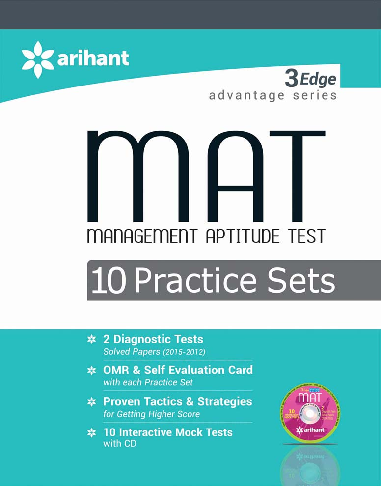 3 Edge Advantage Series - MAT 10 Practice Sets by NidhiRK BehlDiwakar SharmaAshwaniAyush Gupta on Textnook.com