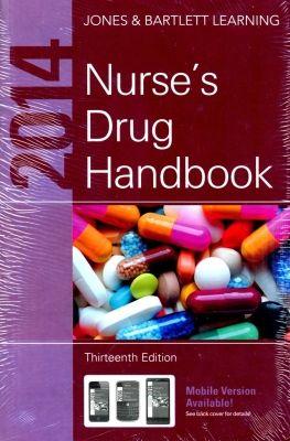 2014 Nurse's Drug Handbook,  13/E by Bartlett LearningJones on Textnook.com