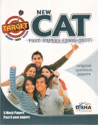 TARGET NEW CAT - Past (2005 - 2010) + 5 Mock Tests + 25 Practice Test CD by Disha Publication on Textnook.com