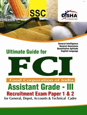Ultimate Guide for FCI Assistant Grade - III Recruitment Exam Paper 1 & 2 by Disha Publication on Textnook.com