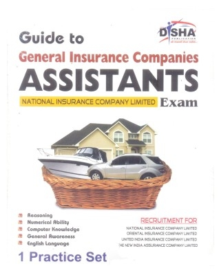 General Insurance Companies' Guide for Assistants Exam 2013 with 1 Practice Set by Disha Publication on Textnook.com
