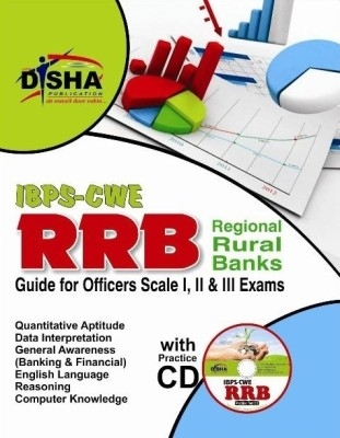 IBPS-CWE RRB Guide for Officer Scale 1, 2 & 3 Exam with Practice CD 2nd Edition by Disha Publication on Textnook.com