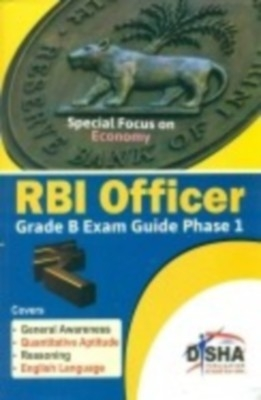 RBI Grade B Officer Exam Guide for Phase 1 by Disha Publication on Textnook.com