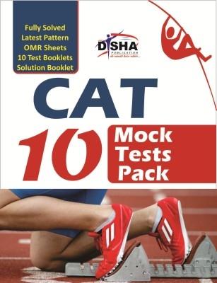 CAT 10 MOCK TEST PACK (Test Booklets/ OMR sheets/ Solution Booklet) by Disha Publication on Textnook.com