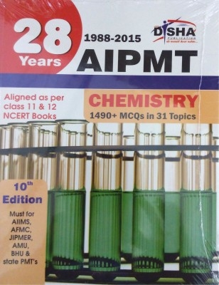 28 Years CBSE-AIPMT Topic wise Solved Papers CHEMISTRY (1988 - 2015) 10th Edition by Disha Publication on Textnook.com