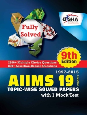 AIIMS 19 years Topic-wise Solved Papers (1997-2015)  with 1 Mock Test (9th Edition) by Disha Publication on Textnook.com