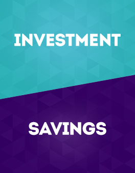 CASHe - Difference between an Investment and Savings
