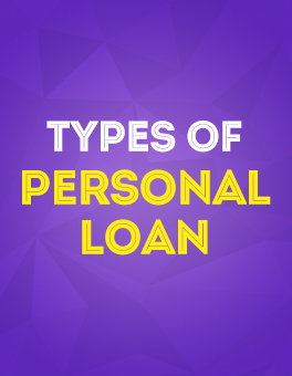 CASHe - Types of Personal Loan