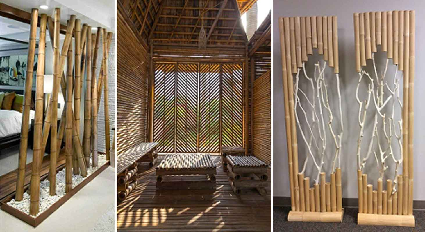 Bamboo For Interior Design on narrow lake house designs
