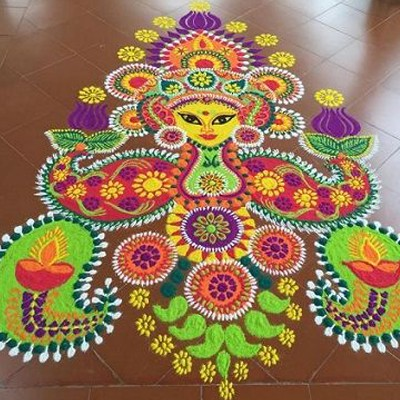 Have You Tried All Of These 10 Different Rangoli Forms Homeonline