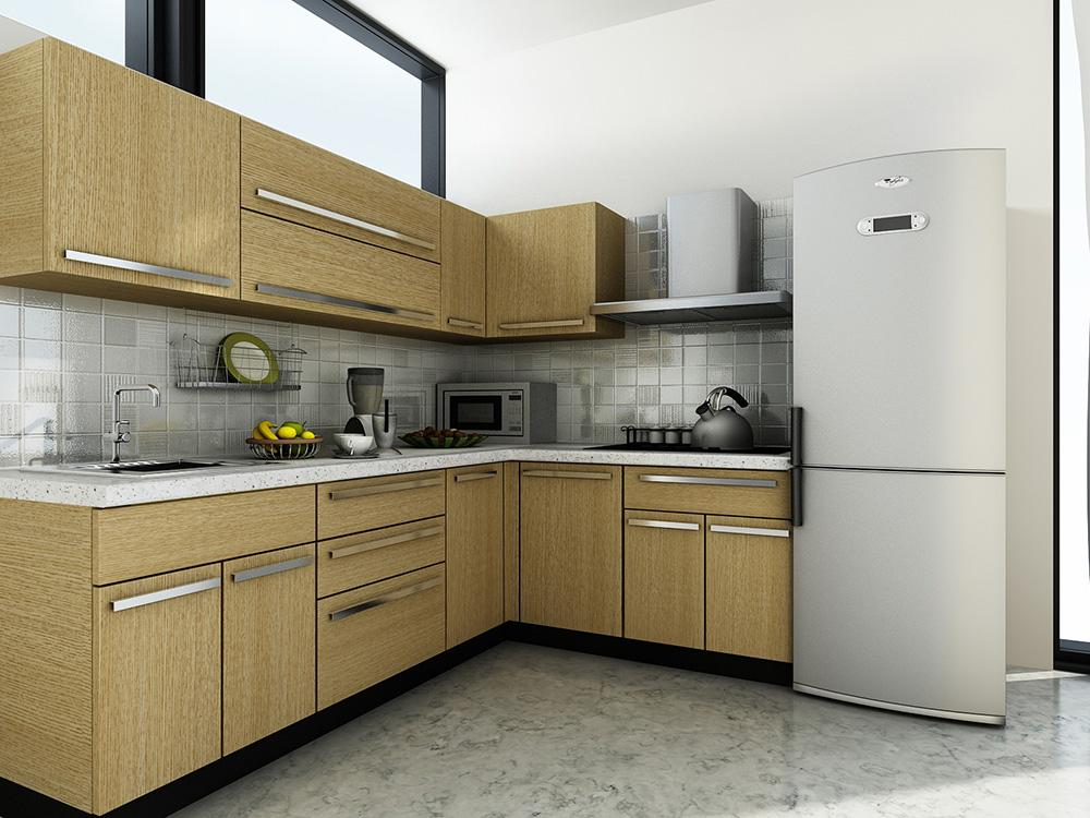 Modular kitchen designs for L shaped kitchen design ideas india