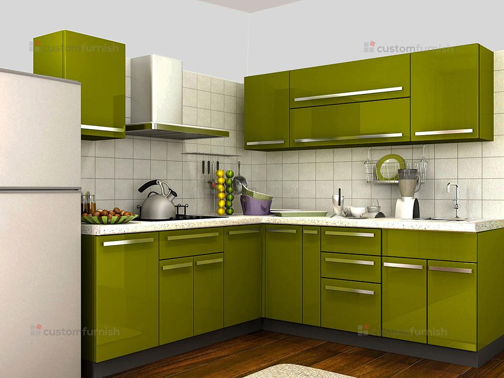 Modular kitchen design for small kitchen 25 design ideas for Small modular kitchen