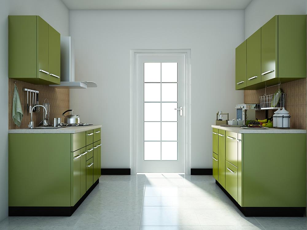 Modular kitchen designs for Small modular kitchen