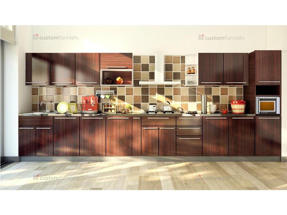 Modular kitchen designs for Straight kitchen designs