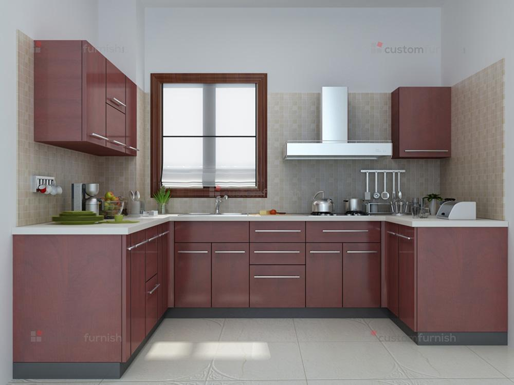 modular kitchen designs : u shaped kitchen 3 from www.customfurnish.com size 1000 x 750 jpeg 57kB