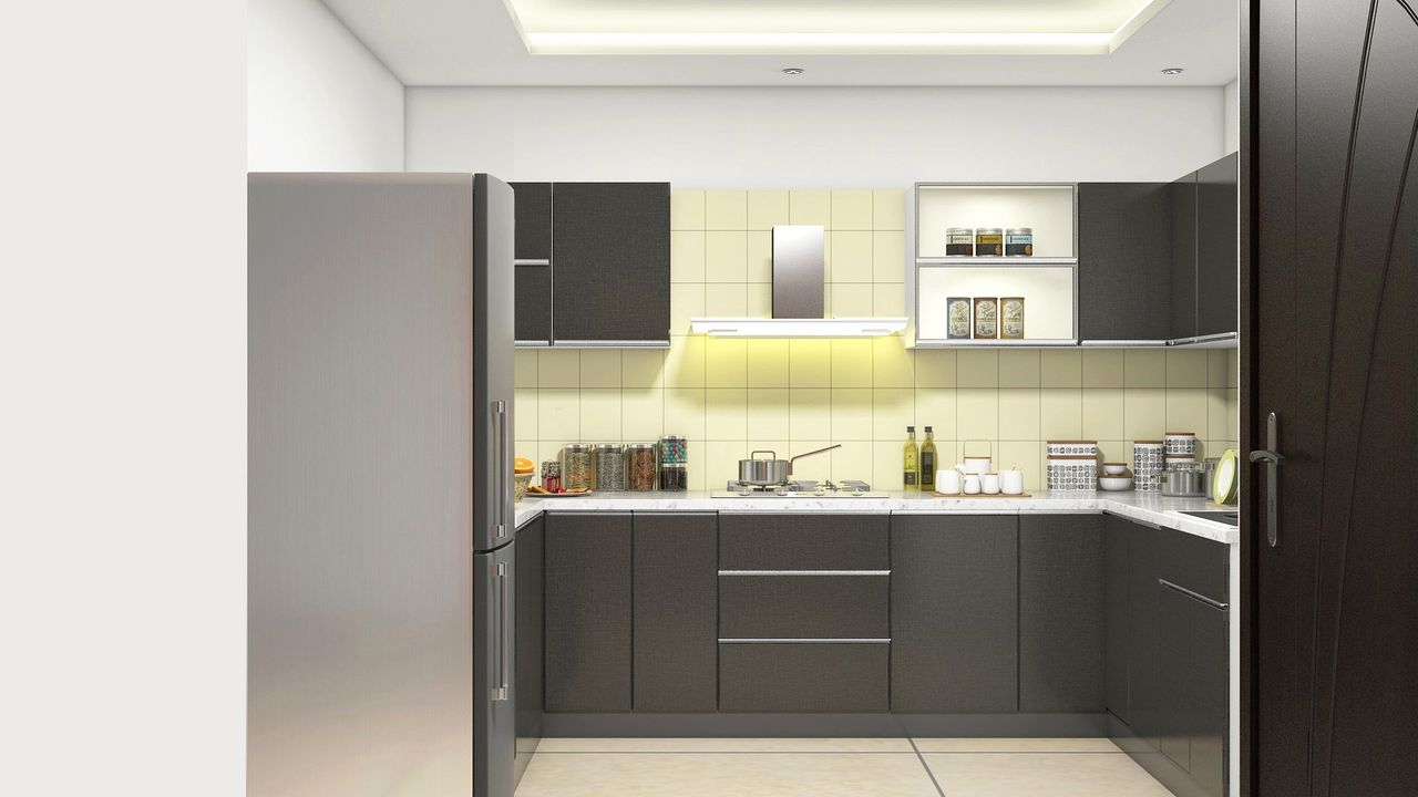 Low Cost Modular Kitchen Photos In Interior Designers