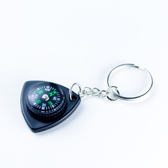 KEYCHAIN TRIANGLE COMPASS