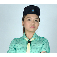 GIRL GUIDE SIDE CAP