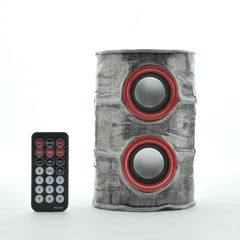 PORTABLE SPEAKERS - OIL DRUM