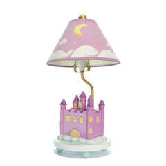 KID'S LAMP - PINK CASTLE