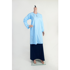LIGHT BLUE BAJU KURUNG