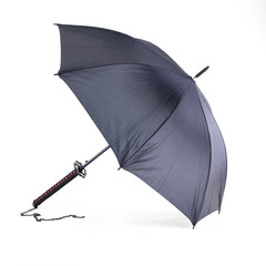 DELUXE BLACK SAMURAI UMBRELLA