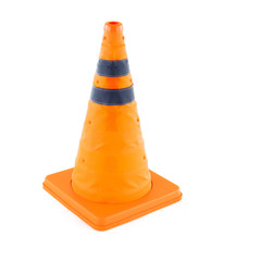 FOLDABLE EMERGENCY CONE