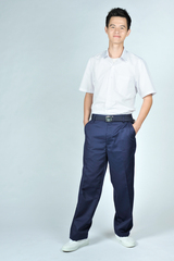 NAVY BLUE LONG PANTS