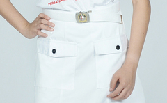 RED CRESCENT NYLON BELT