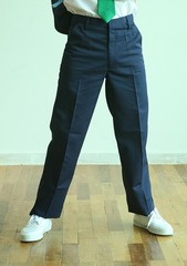 NAVY BLUE LONG PANT WITH GARTER