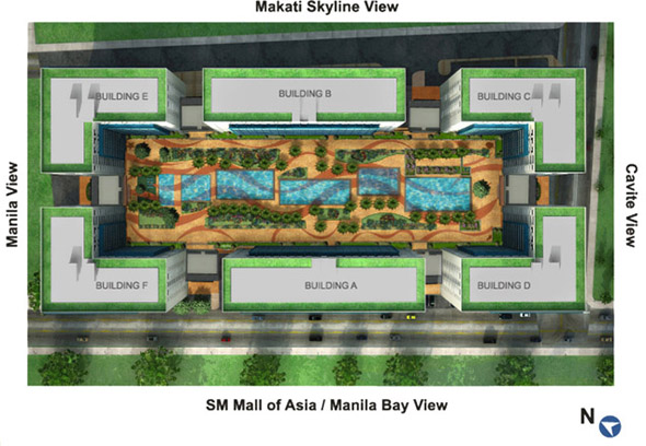 Condominium in Pasay Sea Residences
