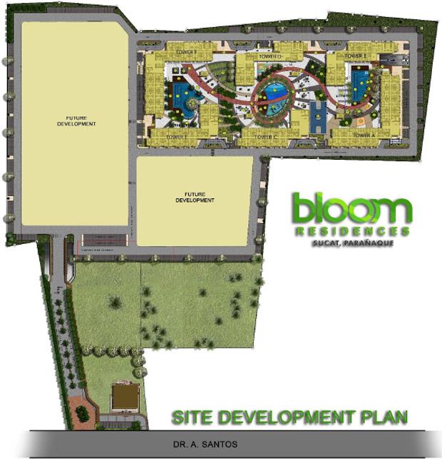 Condominium in Parañaque Bloom Residences