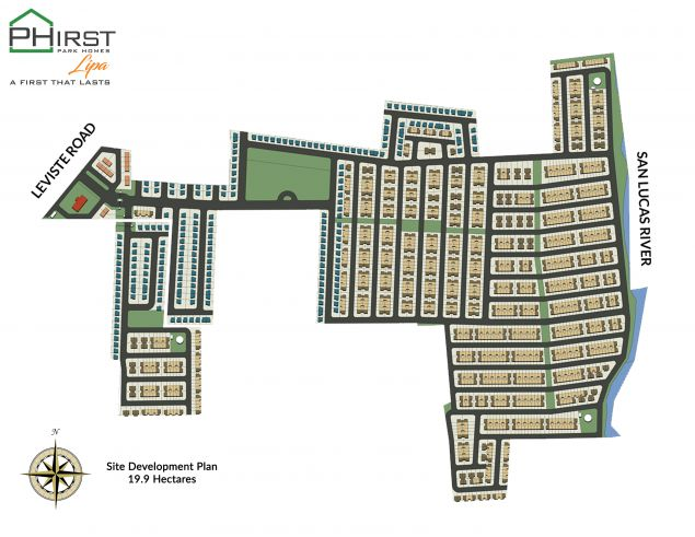 House and Lot in Lipa Phirst Park Homes Lipa