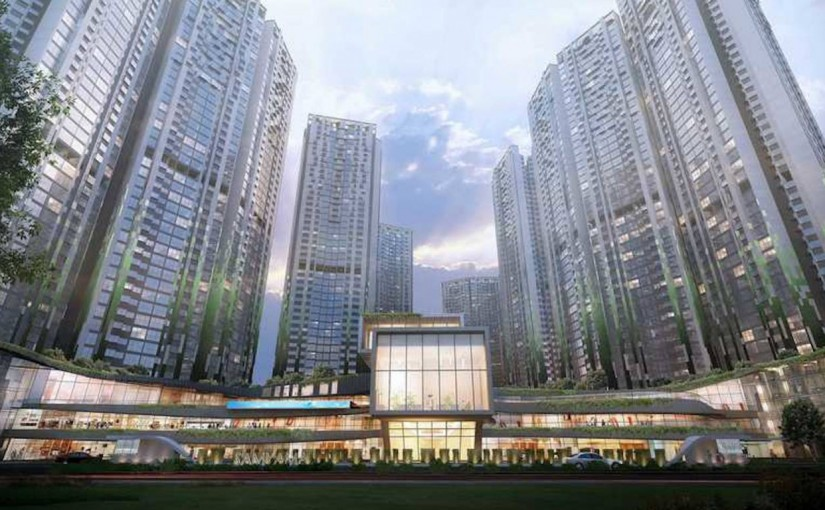 In Focus: Adhiraj Capital City Tower Oreka By Adhiraj Constructions
